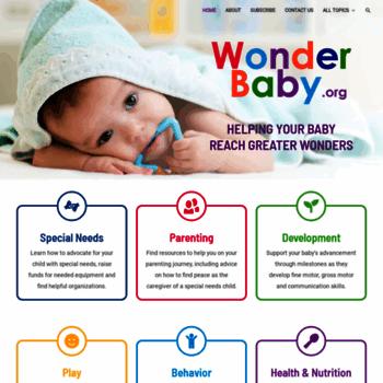 Wonderbaby.org thumbnail