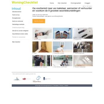 Woningchecklist.nl thumbnail