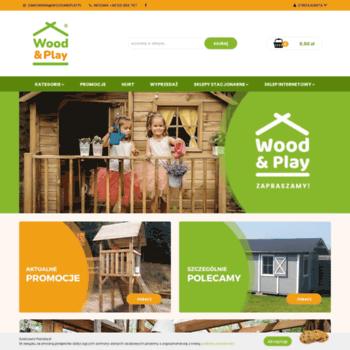 Woodandplay.pl thumbnail