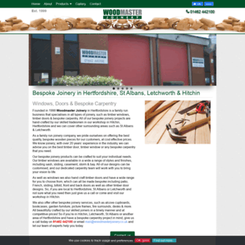 Woodmasterjoinery.co.uk thumbnail