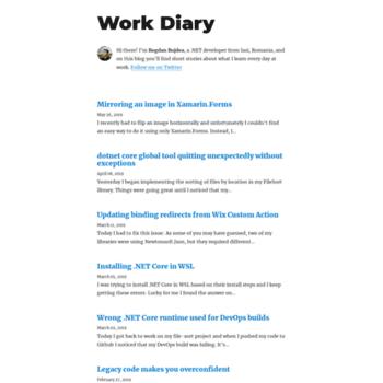 Workdiary.dev thumbnail
