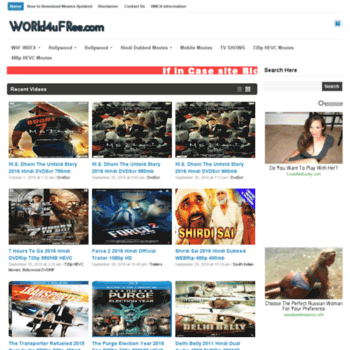 world4ufree unblocked vip at WI  World4uFree ws - free download