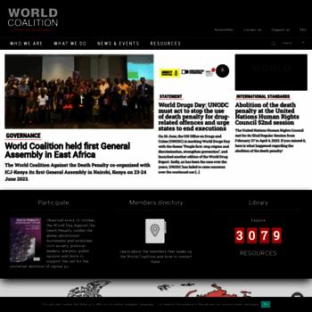 Worldcoalition.org thumbnail