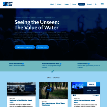 Worldwaterweek.org thumbnail