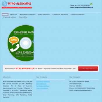 Worldwidedatabase.in thumbnail