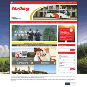 Worthing-coaches.co.uk thumbnail