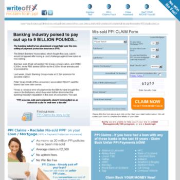 Writeoff-myloan.co.uk thumbnail