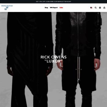 Wrongweather.net thumbnail