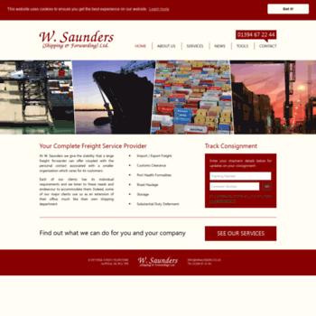 Wsaunders.co.uk thumbnail