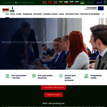 Wsz-sw.edu.pl thumbnail