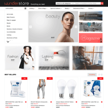 Wunderstore: Hundreds of shops just a click away!