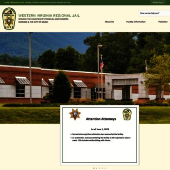 wvarj org at WI  Western Virginia Regional Jail, VA