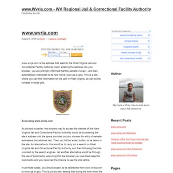 wvrjacom org at WI  www Wvrja com - WV Regional Jail