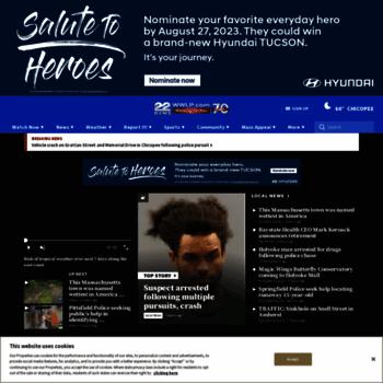wwlp com at WI  Springfield News & Weather | Springfield, MA