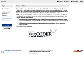 Wxcoder.org thumbnail