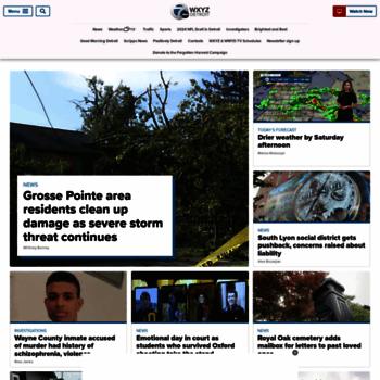 wxyz com at WI  Detroit breaking news, school closings, weather