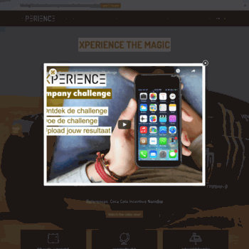 X-perience.be thumbnail