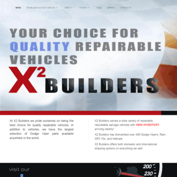 X2builders Com At Wi Salvage Repairable Auto Repairable Cars For
