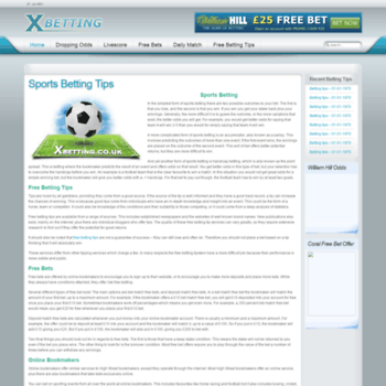 Xbetting.co.uk thumbnail