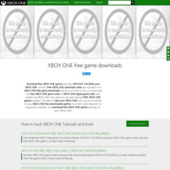 xboxonegamefree com at WI  XBOX ONE free game codes|Direct