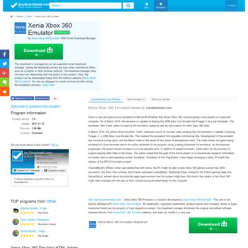 xenia joydownload com at WI  Xenia Xbox 360 Emulator - Download