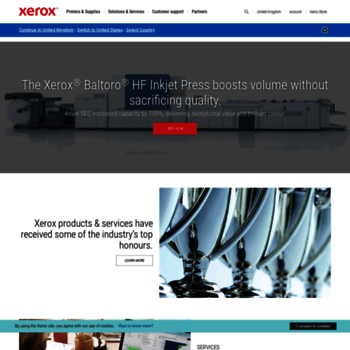 xerox co uk at WI  Business Services, Digital Printing Solutions