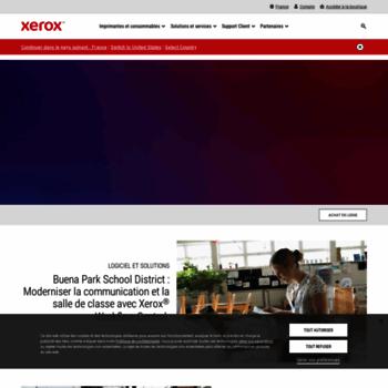 Xerox.fr thumbnail