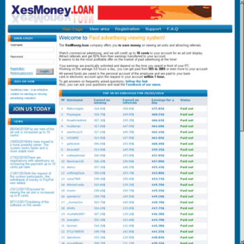 Xesmoney.loan thumbnail