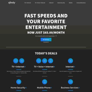 xfinity-deals com at WI  Comcast Deals - Call 1-866-500-1764
