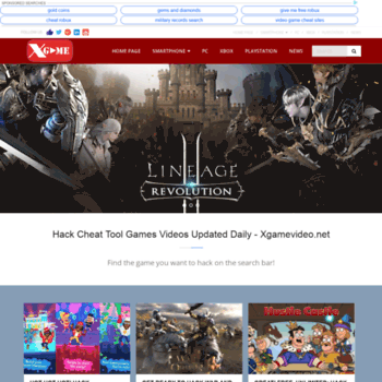 Xgamevideo.net thumbnail