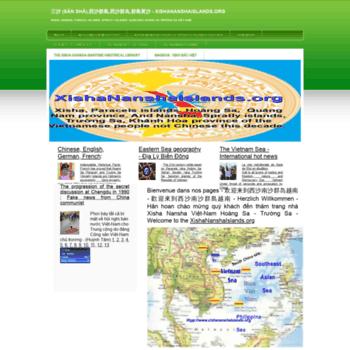 Xishananshaislands.org thumbnail