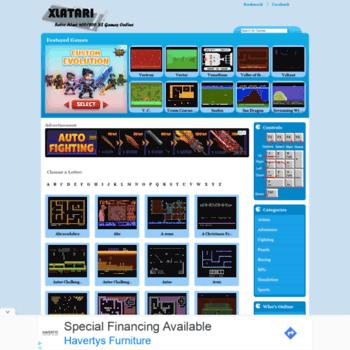 xlatari com at WI  XLAtari the Best place to Play Retro