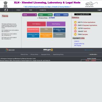 Xlnindia.gov.in thumbnail