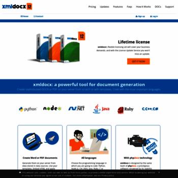 xmldocx com at WI  Word with Java, Python, Ruby, JavaScript