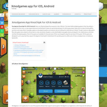 xmodgamesdownloads com at WI  Xmodgames Download 2018 Xmod