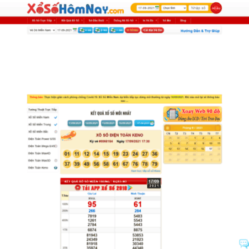 Xosohomnay.com.vn thumbnail