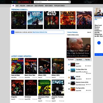 xoxocomics com at WI  Read Comics Online - Read Dc, Marvel