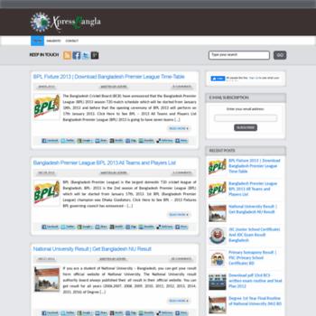 Xpressbangla.com thumbnail