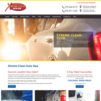Xtremecleanautospa.net thumbnail