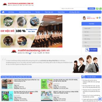 Xuatkhaulaodong.com.vn thumbnail