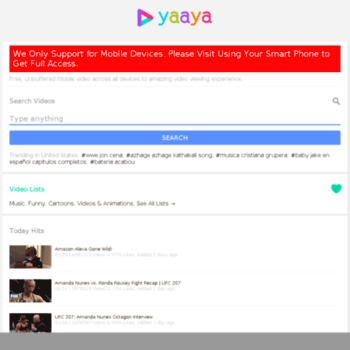 yaaya-video com at WI  Welcome to nginx!