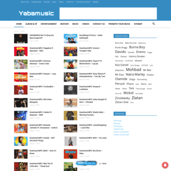 yabamusic com at WI  Download latest songs YabaMusic com