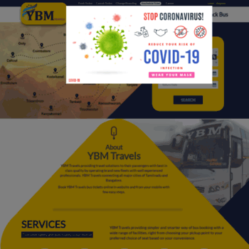 ybmtravels in at WI  Online Bus Ticket Booking - Bus Tickets