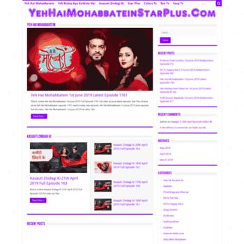Yehhaimohabbateintv.net thumbnail