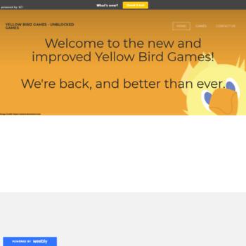 Yellowbirdgames.weebly.com thumbnail