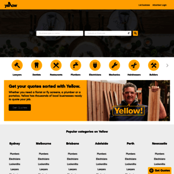 yellowpages com au at WI  Yellow Pages® | Your Local Australian