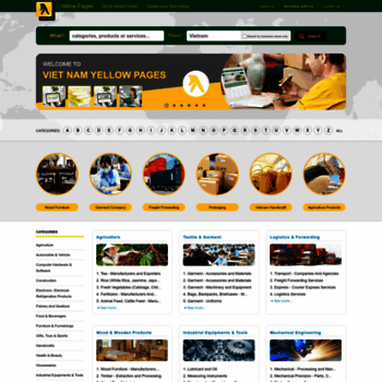 yellowpagesvn com at WI  Yellow Pages - Vietnam Business Directory