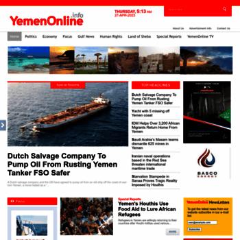Yemenonline.info thumbnail