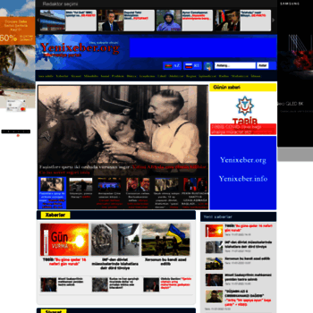 Yenixeber.org thumbnail
