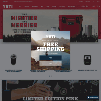 yeti com at WI  YETI | Premium Coolers, Drinkware, Gear, and Apparel